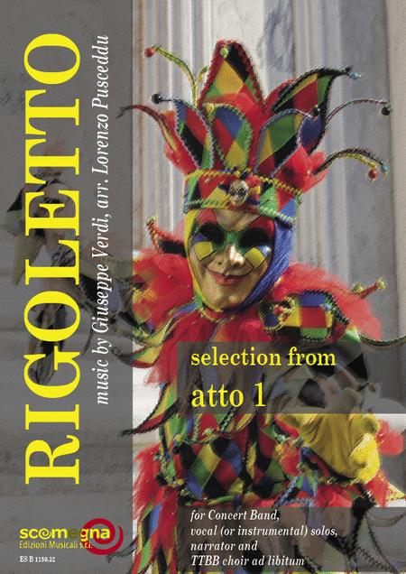 Rigoletto - Act 1 (Study Score)