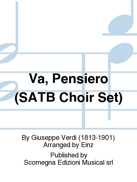 Va, Pensiero (SATB Choir Set)