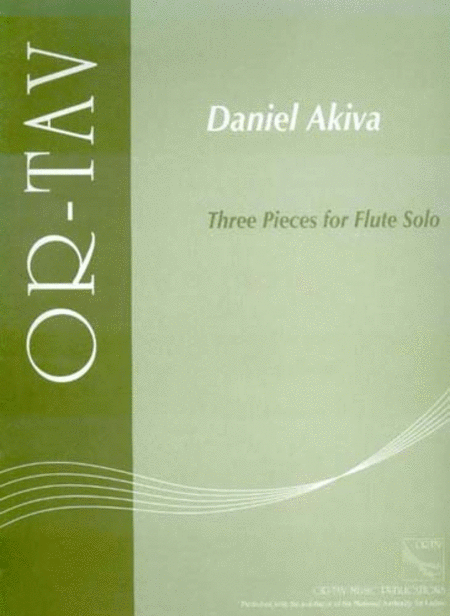Three Pieces for Flute Solo