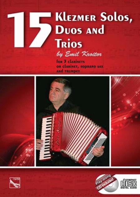 15 Klezmer Solos, Duos, and Trios