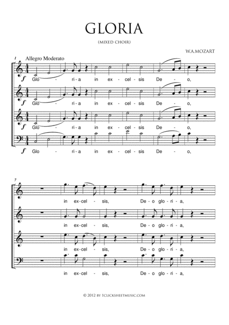 Gloria (Mozart)