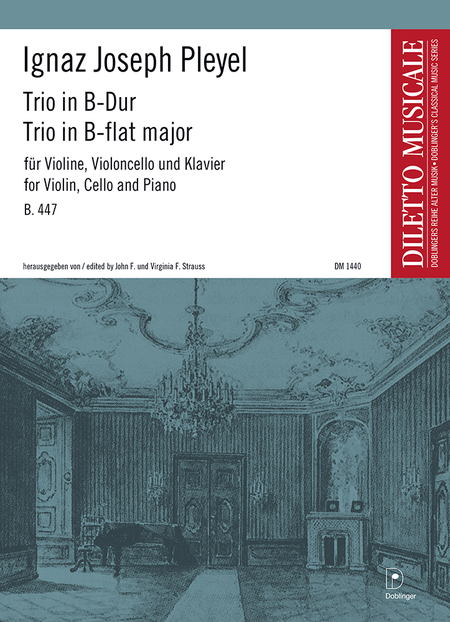 Trio in B-Dur B.447