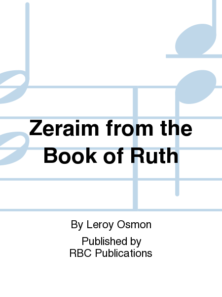 Zeraim from the Book of Ruth