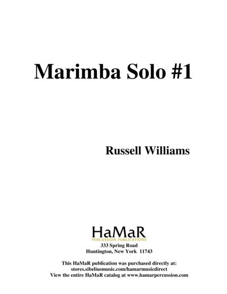 Marimba Solo #1