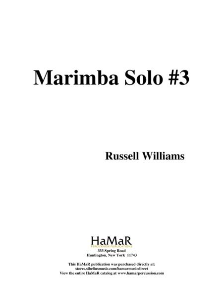 Marimba Solo #3