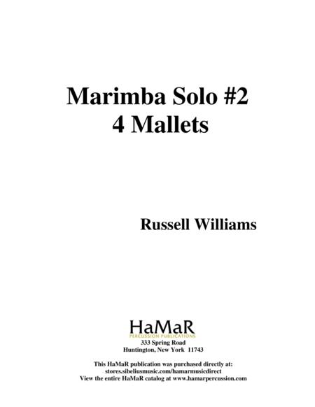 Marimba Solo #2 (4 mallets)