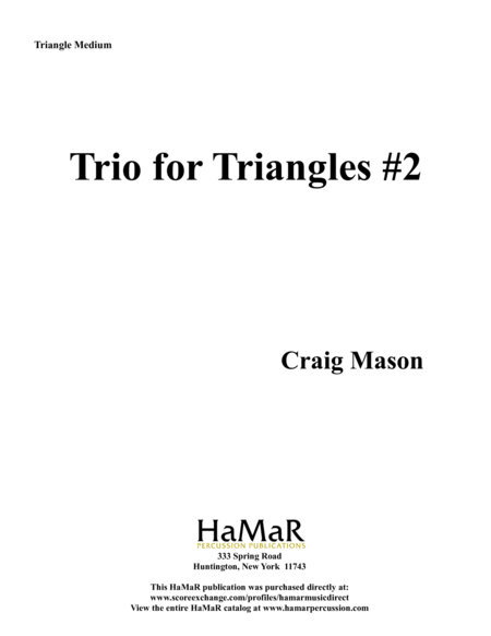 Triangle Trios #2