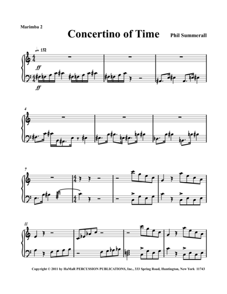 Concertino of Time