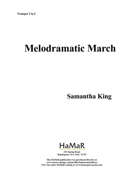 Melodramatic March