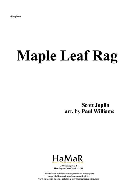 Maple Leaf Rag