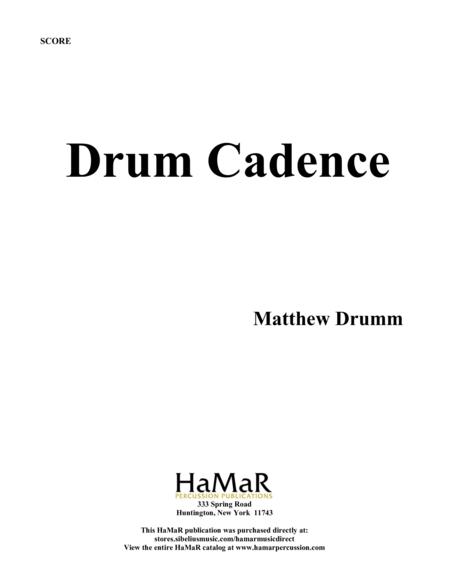 Drum Cadence