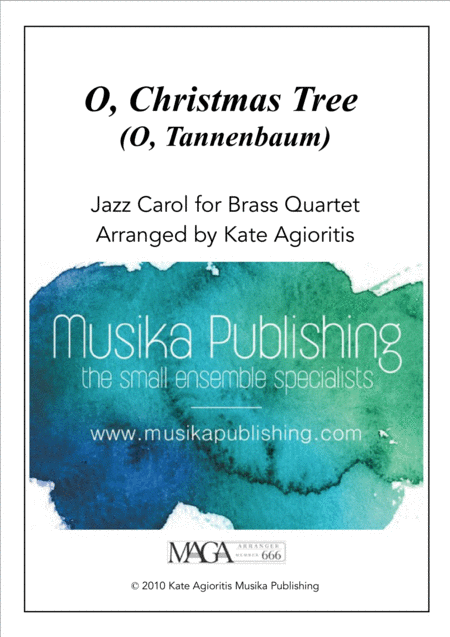 O Christmas Tree (O Tannenbaum) - Jazz Carol for Brass Quartet