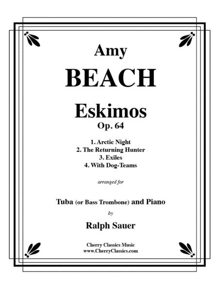 Eskimos, Op. 64 for Tuba or Bass Trombone & Piano