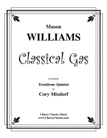 Classical Gas for Trombone Quintet
