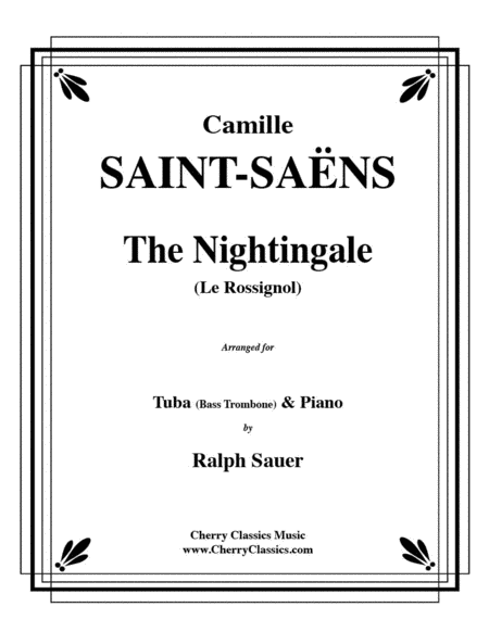 The Nightingale (Le Rossignol) for Trombone & Piano
