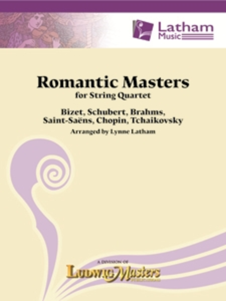Romantic Masters for String Quartet