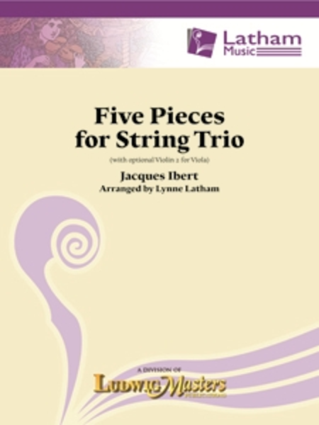 Five String Pieces for String Trio