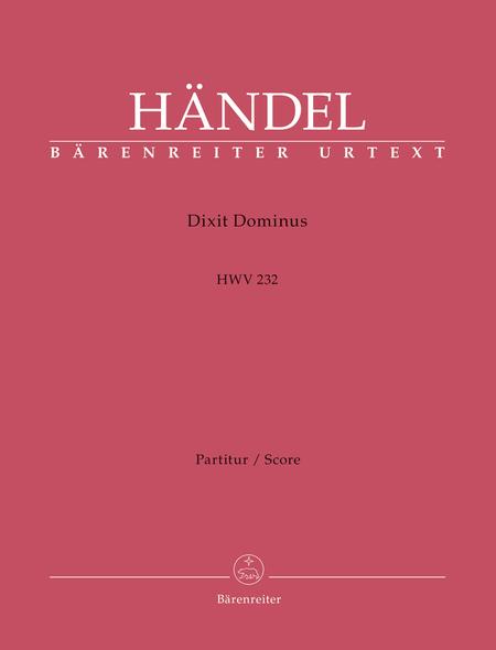Dixit Dominus HWV 232 (Psalm 109)