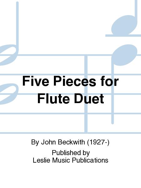 Five Pieces for Flute Duet