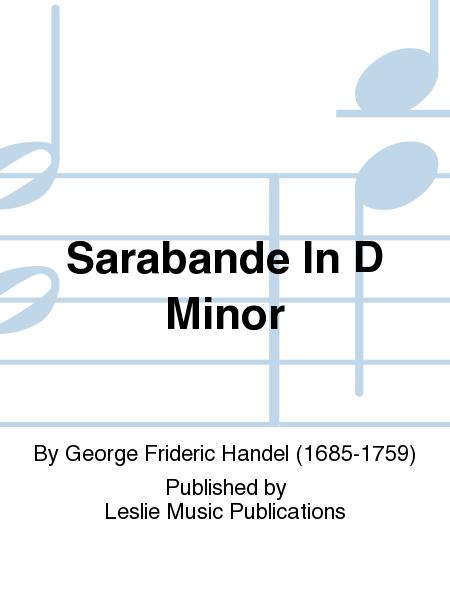 Sarabande In D Minor