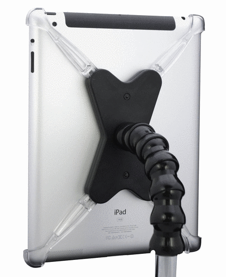 Mic Stand Flex-Mount for iPad 2/3