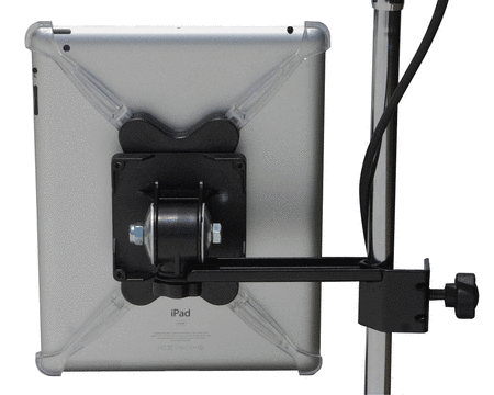 Mic Stand Side-Arm Mount for iPad 2/3