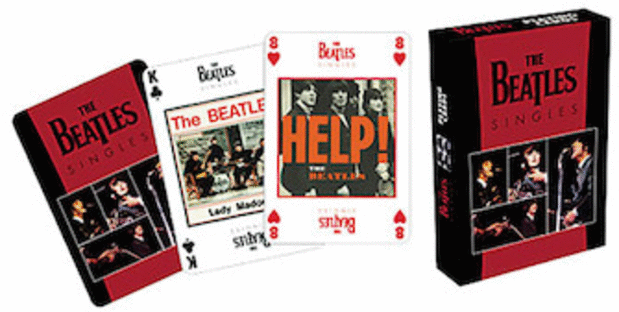 Beatles Playing Cards (Singles)