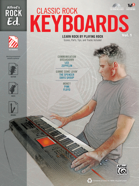 Alfred's Rock Ed. -- Classic Rock Keyboards, Volume 1