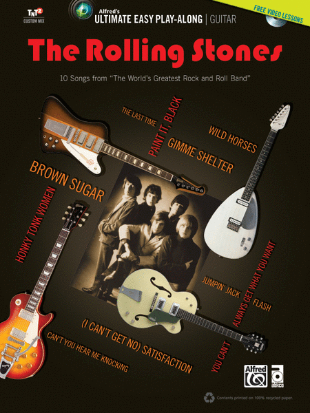 Ultimate Easy Guitar Play-Along -- The Rolling Stones