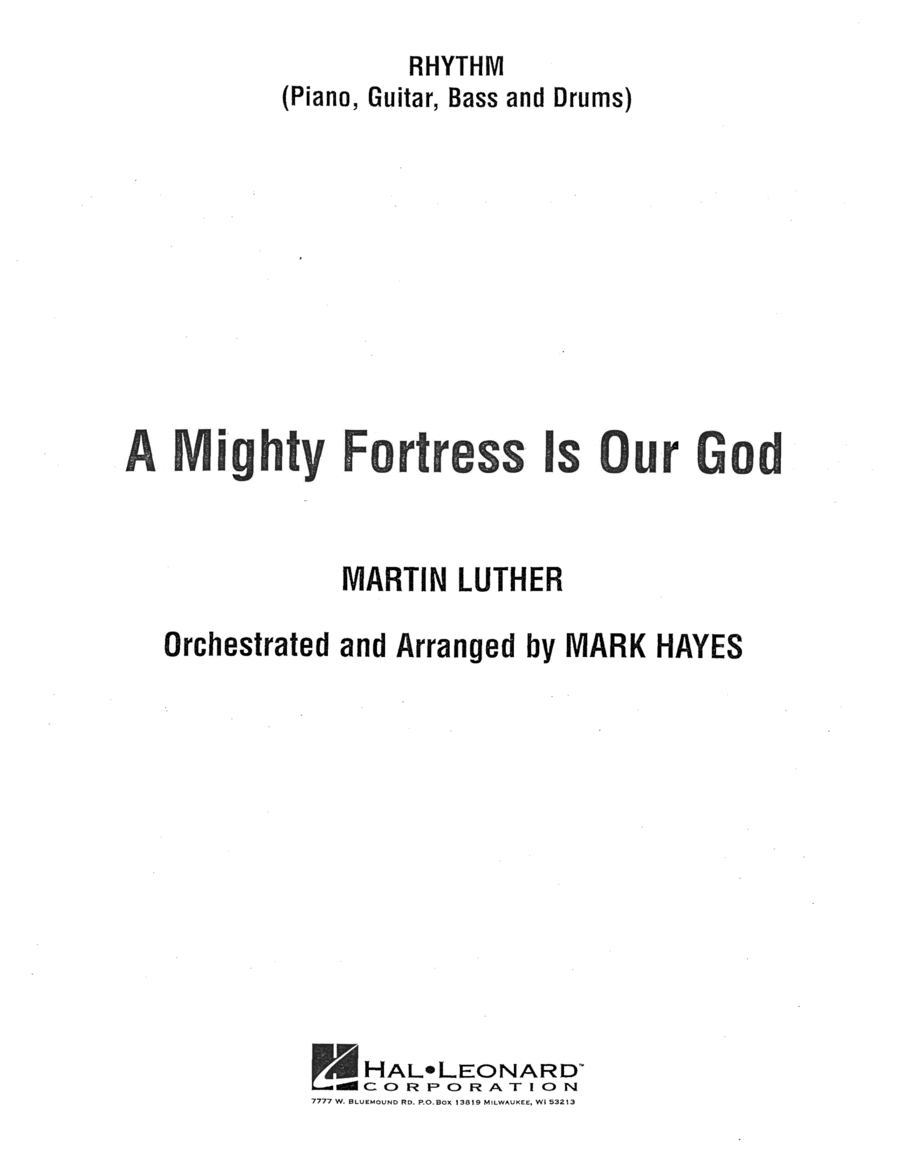 A Mighty Fortress Is Our God - Rhythm