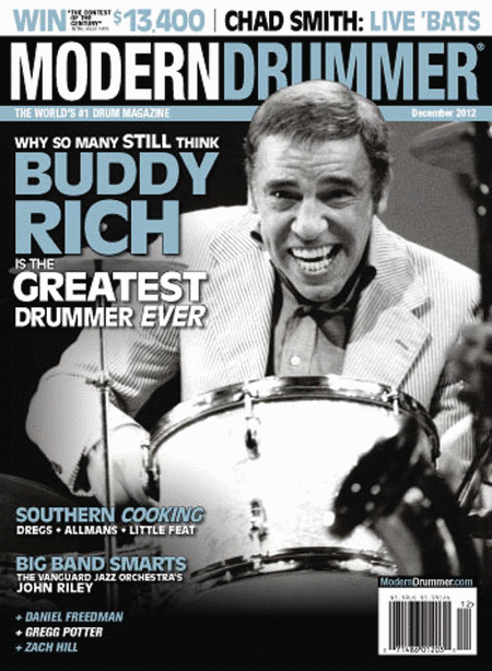Modern Drummer Magazine - December 2012 Issue