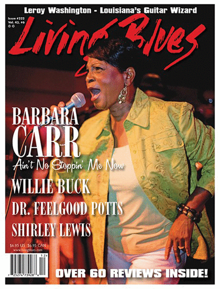 Living Blues Magazine - December 2012