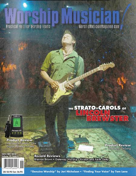 Worship Musician Magazine - Nov/Dec 2012