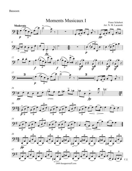 Moments Musicaux I