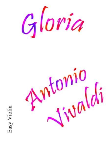 Gloria Easy Violin