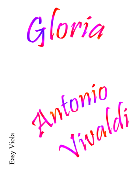Gloria Easy Viola