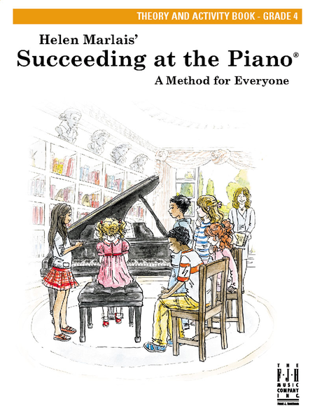 Succeeding at the Piano Theory and Activity Book - Grade 4