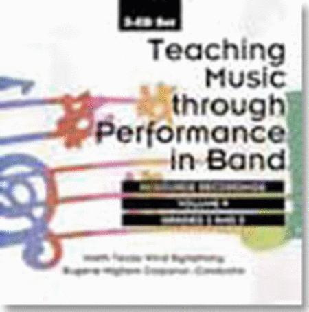 Teaching Music through Performance in Band: Volume 9, Grades 2-3