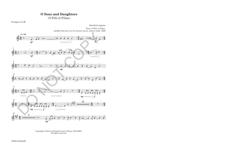 Sons and Daughters (instrumental parts)