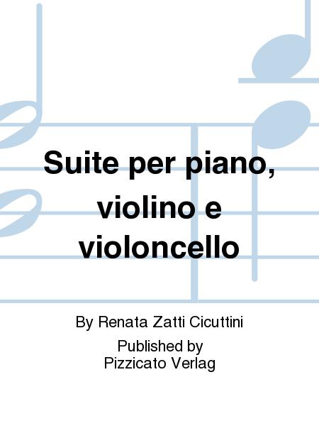 Suite per piano, violino e violoncello