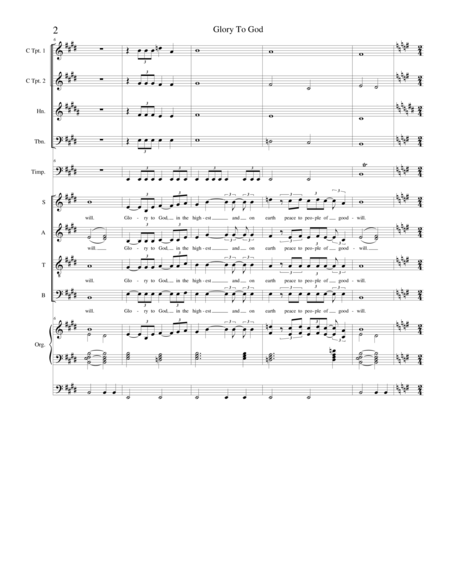 Mass of Saint Michael (Full Score)
