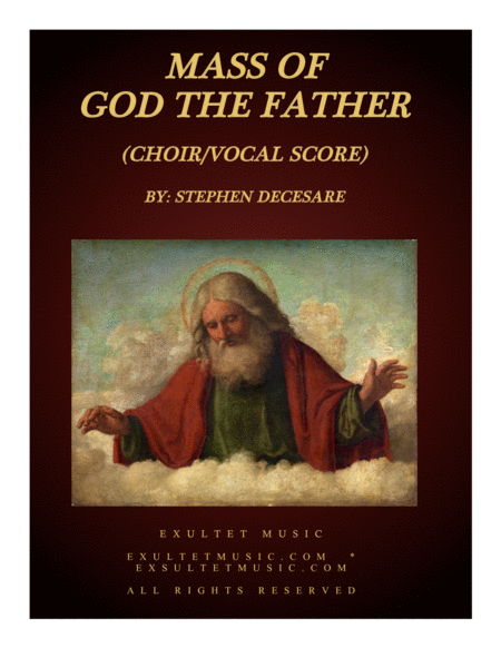 Mass of God the Father (Vocal Score)