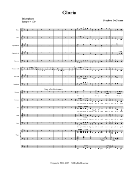 Mass of God the Father (Full Score)