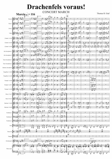 Drachenfels voraus! (Concert Band)