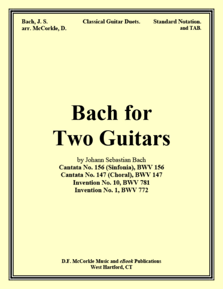 Bach for Two Guitars