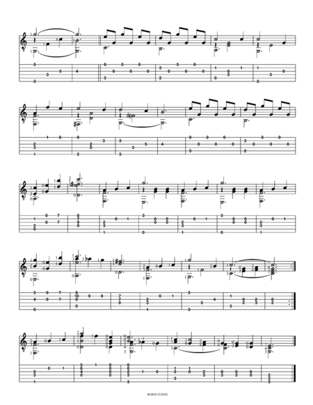 Original Solos for Classical Guitar