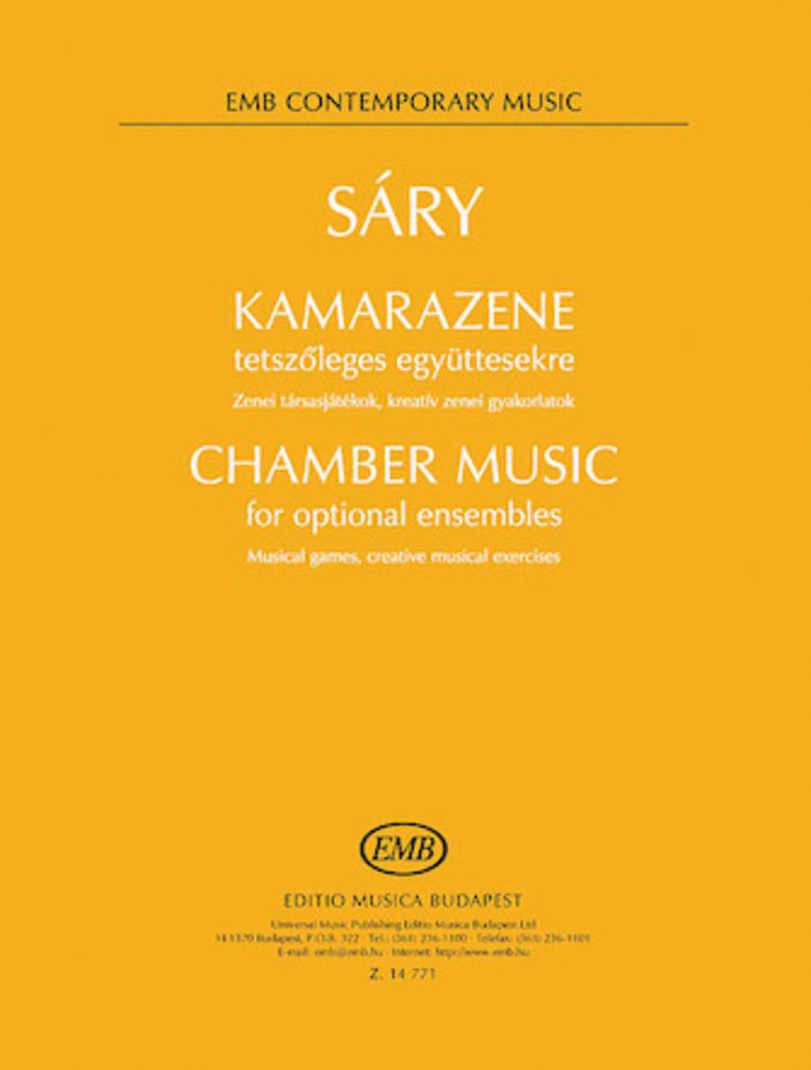 Chamber Music for Optional Ensembles