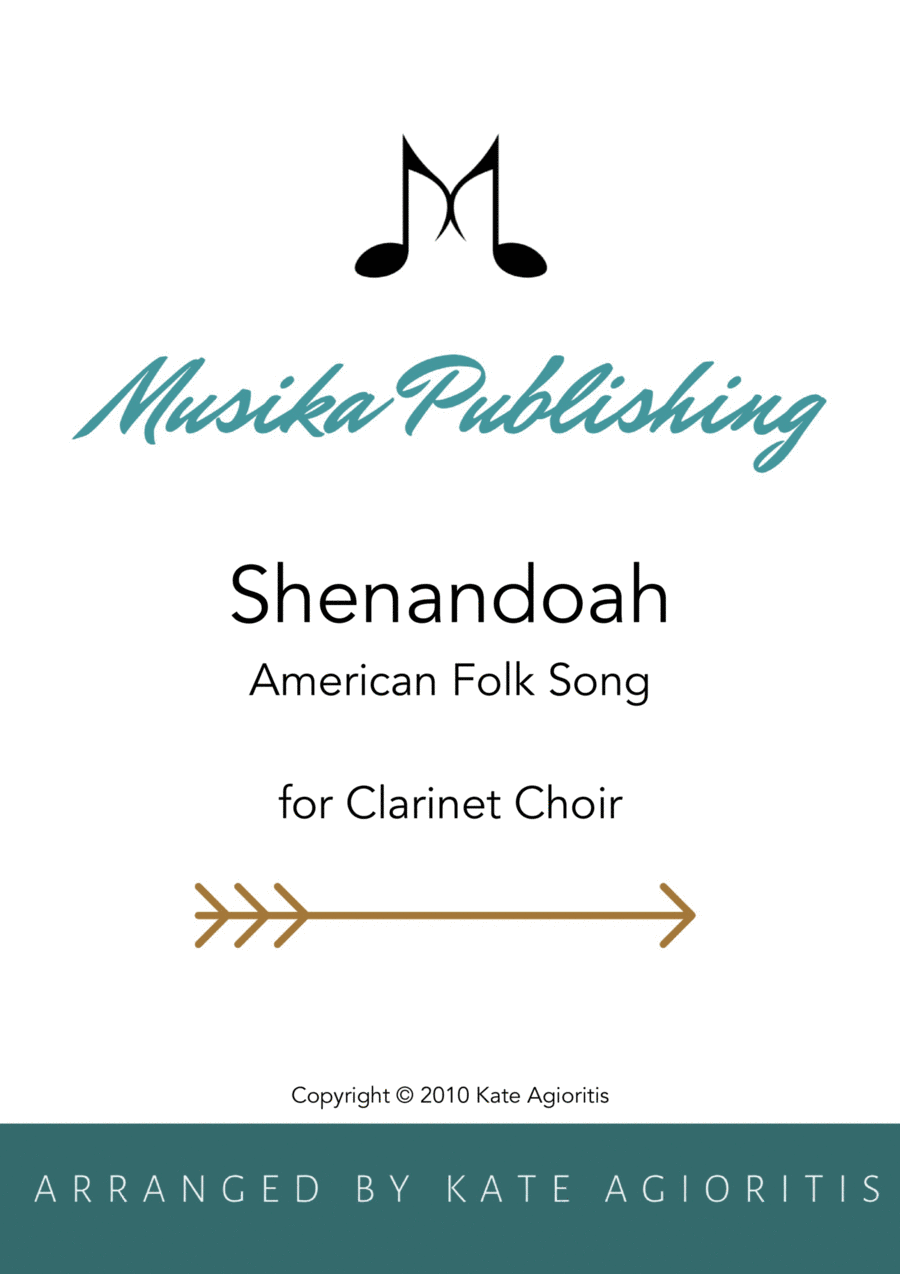 Shenandoah - for Clarinet Choir