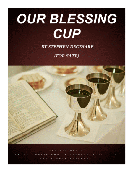 Our Blessing Cup