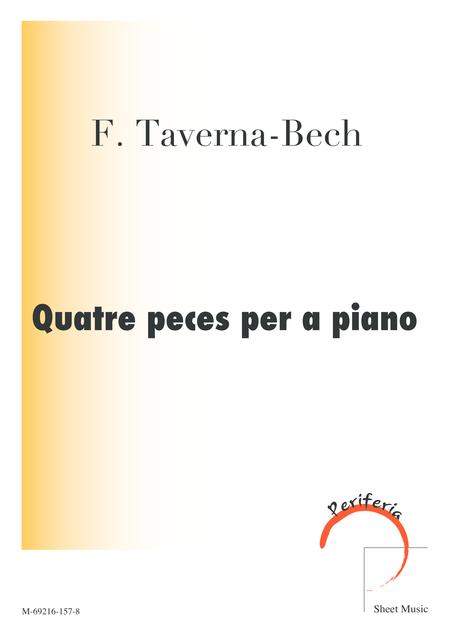 Quatre peces per a piano